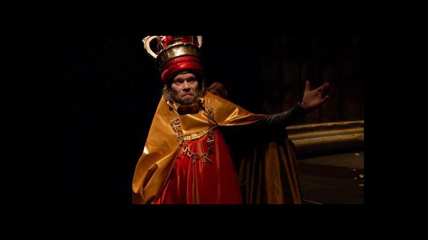 Video Národní hraje Richarda III. na DVD