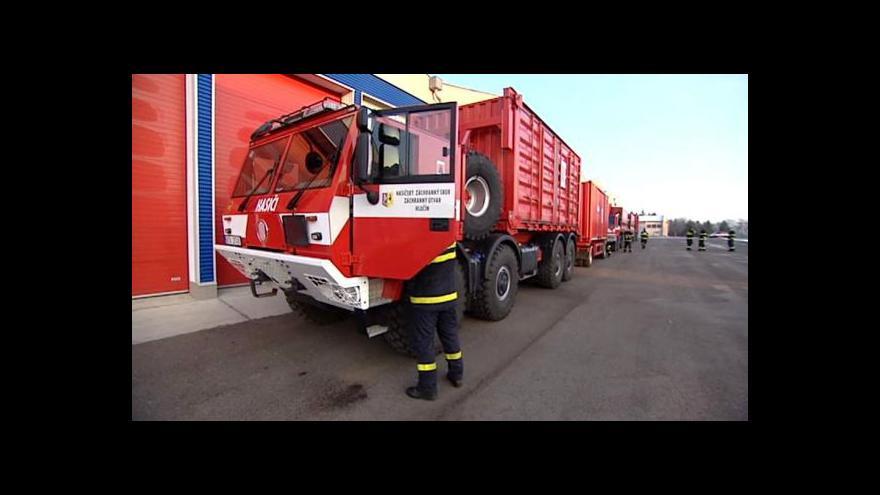 Video Odjezd humanitární pomoci pro Ukrajinu