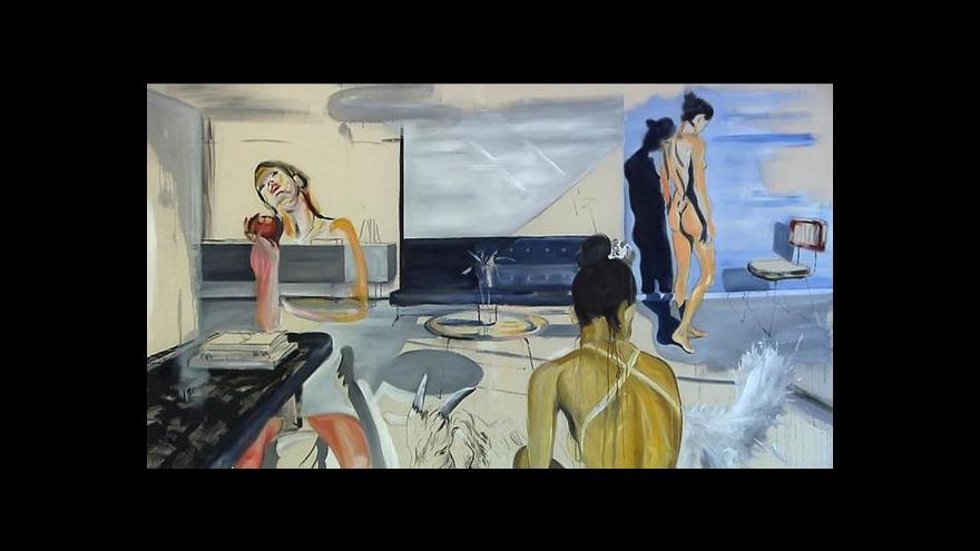 Video Martin Krajc vystavuje nadživotní ženy