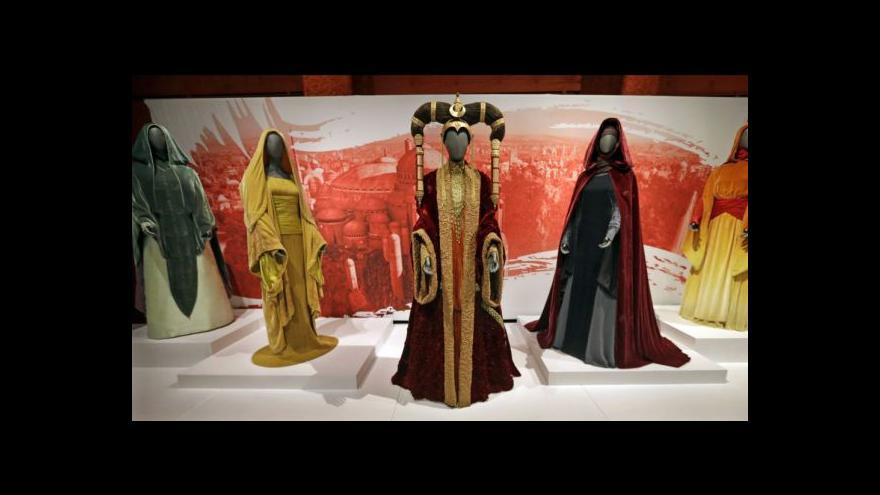 Video Putovní výstava pro fanoušky Star Wars