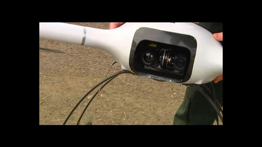 Video Vojenský dron BRUS v akci