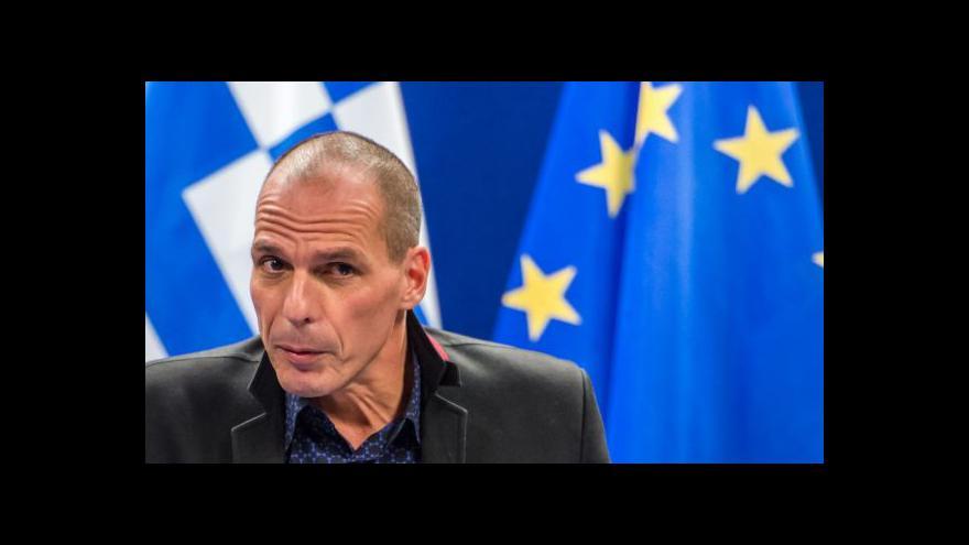 Video Události ČT: Budoucnost Řecka v EU