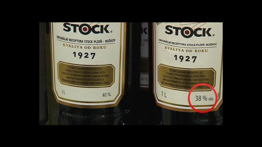 Video Stock snížil podíl alkoholu v likéru Fernet