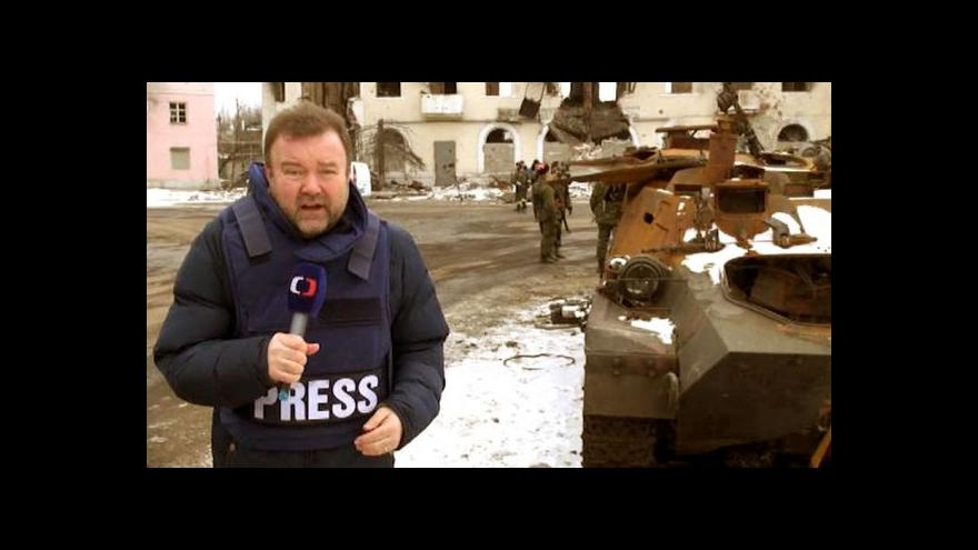 Video Miroslav Karas natáčel v debalcevském kotli