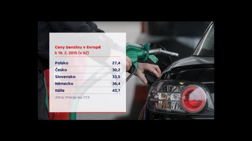 Video Ceny benzinu jdou nahoru, rapidní růst se ale nečeká