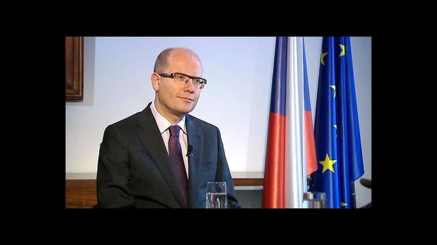 Video Sobotka: Jak dál s jádrem bude jasné do půl roku