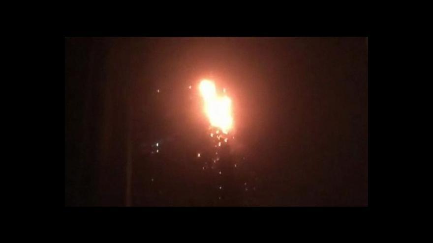 Video V Dubaji hořel mrakodrap, stovky lidí byly evakuovány