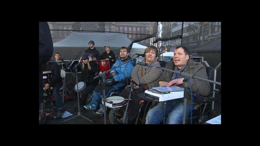Video The Tap Tap vystoupili na Václavském náměstí