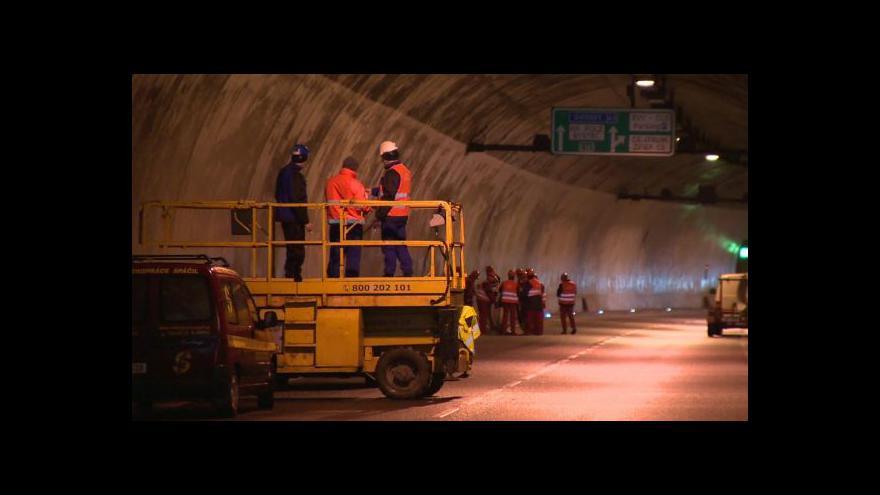 Video Stavbaři uzavřeli Pisárecký tunel v Brně