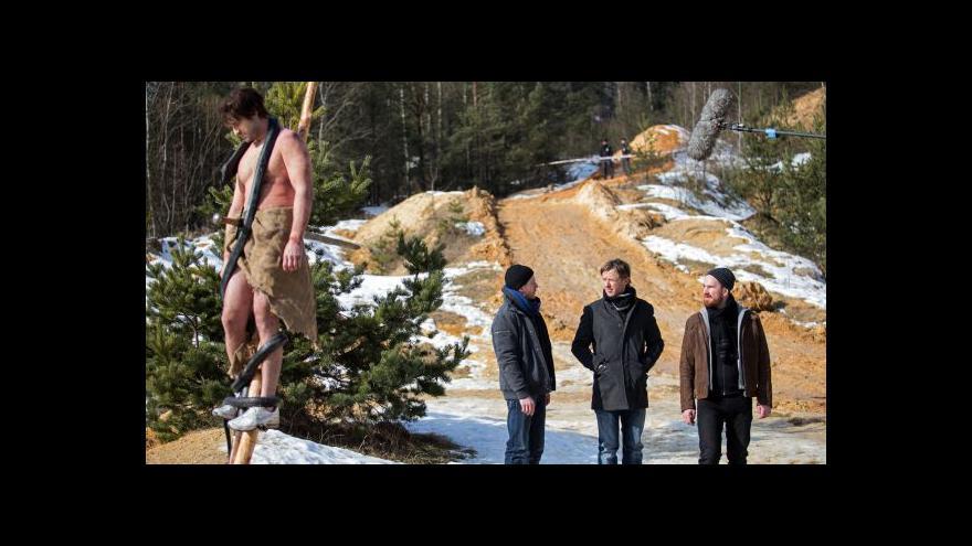 Video Jiří Strach natáčí nový kriminální seriál