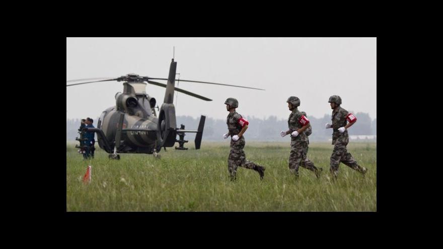 Video Čína mohutně investuje do zbrojení