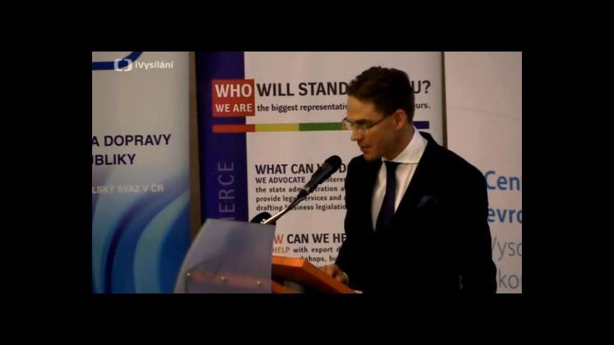 Video Záznam debaty s Jyrkim Katainenem