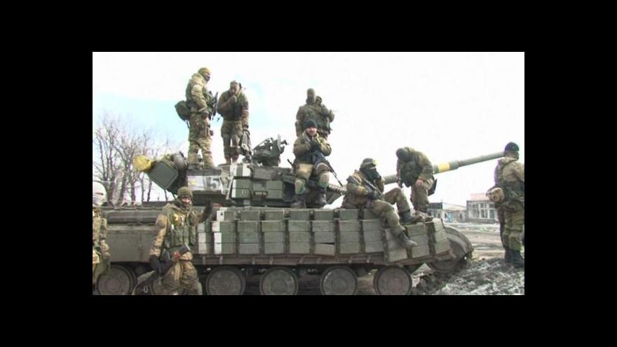 Video Zpravodajové ČT o situaci na východě Ukrajiny
