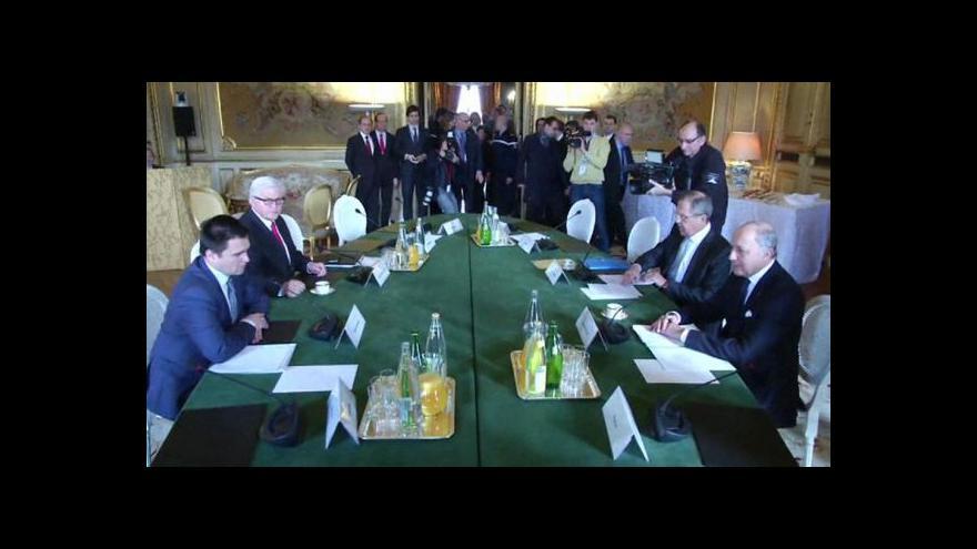 Video Ministři žádají plnění dohod o Ukrajině