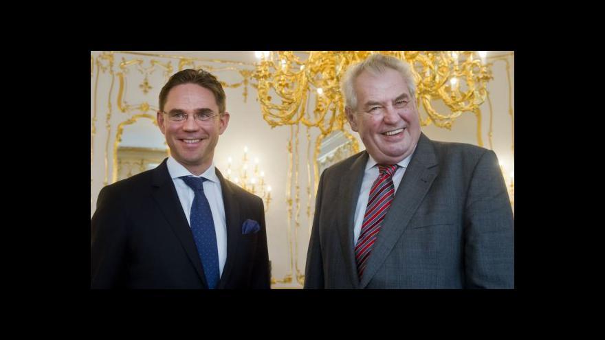 Video Katainen: Fond bude dělit rizika tak, aby nalákal investory