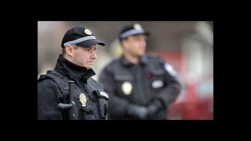Video Události ČT: Chronologie policejního zásahu