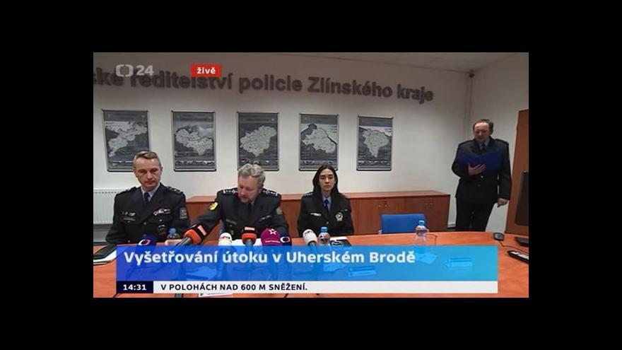 Video Policie Zlínského kraje: Při vyjednávání už byly všechny osoby mrtvé