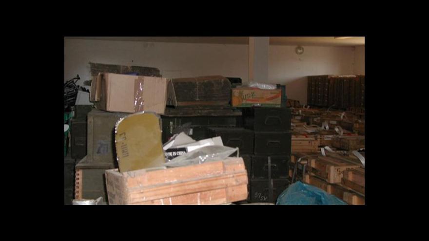 Video Podle kraje i starostů musí munice ze Slatiny zmizet