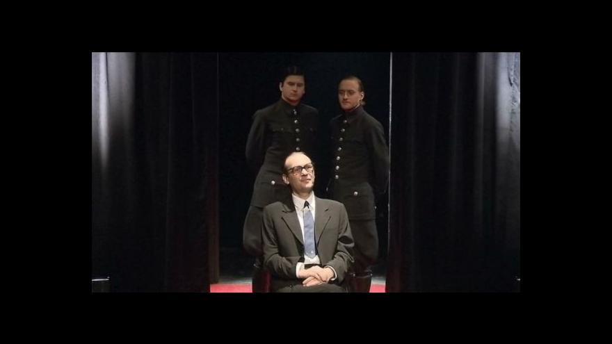 Video Aréna nazkoušela hru o Adolfu Eichmannovi