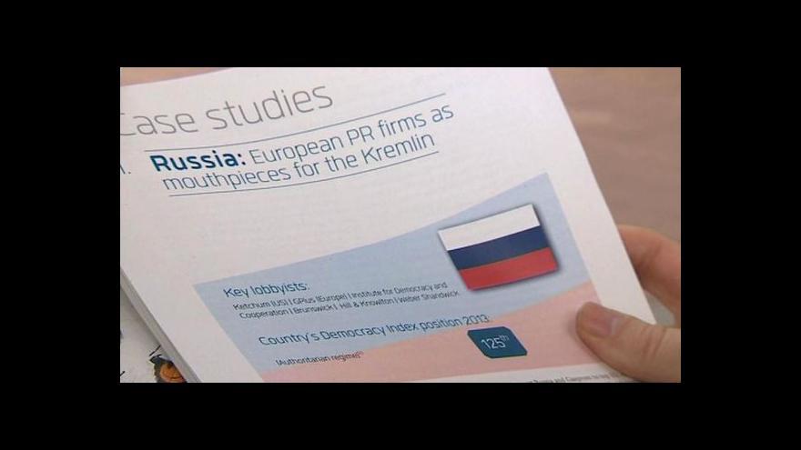 Video Lobbisté Gazpromu v Bruselu