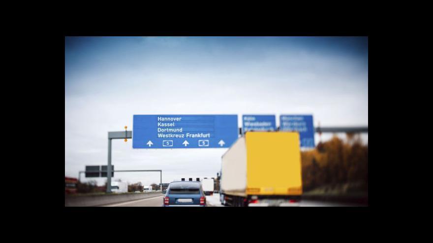Video Německé mýtné se dotkne i českých řidičů