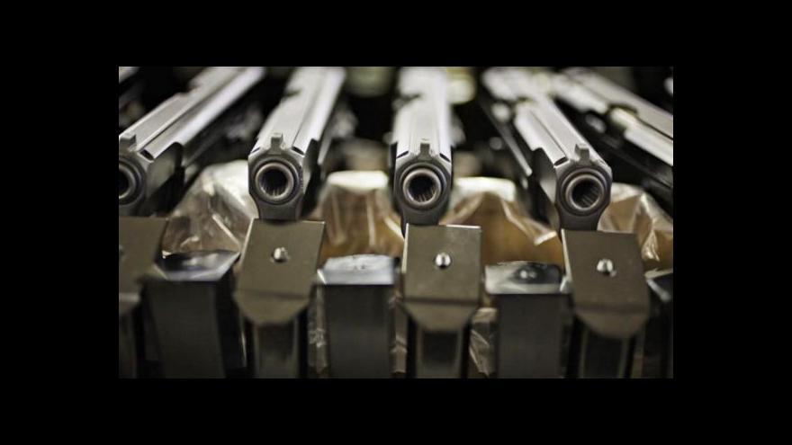 Video Z Česka prý mířily zbraně do Ruska