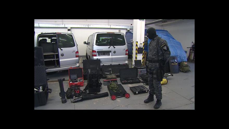 Video Jak vypadá vybavení zásahové jednotky?