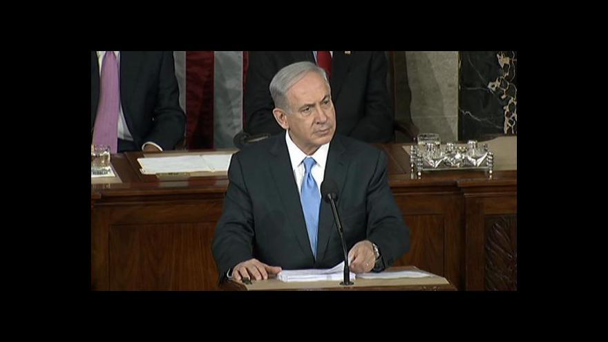 Video Izraelský premiér v Kongresu USA