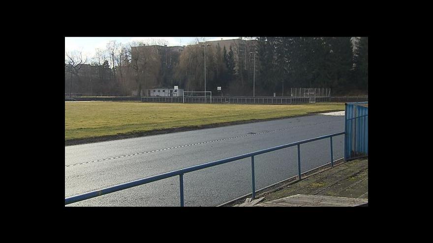Video Rekonstrukce stadionu v Čelákovicích