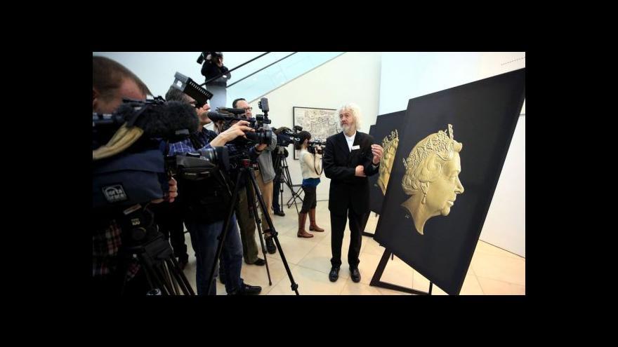 Video Připravuje se už pátá verze mince s Alžbětiným portrétem