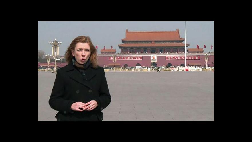 Video Zpravodajka ČT o problémech čínské ekonomiky
