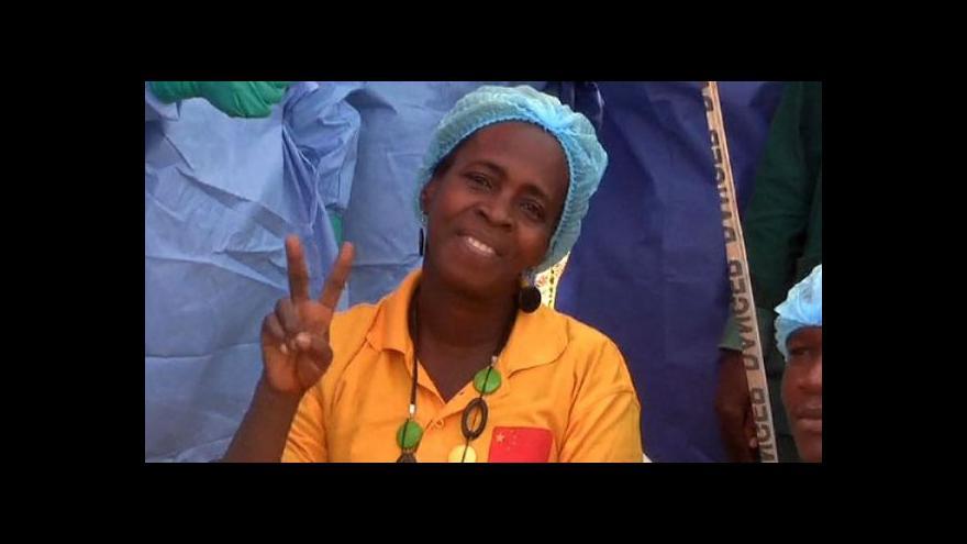 Video Konec eboly v Libérii?