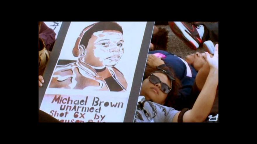 Video Obama podpořil rozhodnutí očistit policistu Wilsona