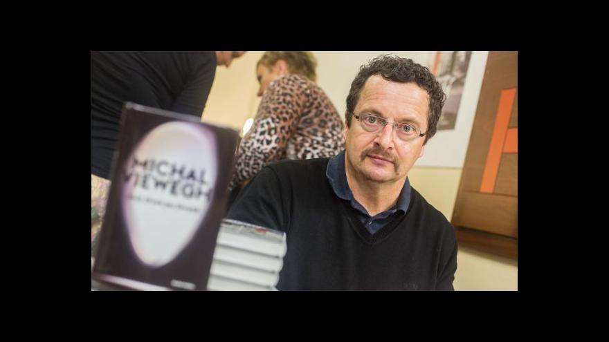 Video Knižní veletrh v Ostravě navštíví Michal Viewegh