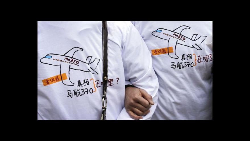 Video Příbuzní cestujících neztrácejí naději