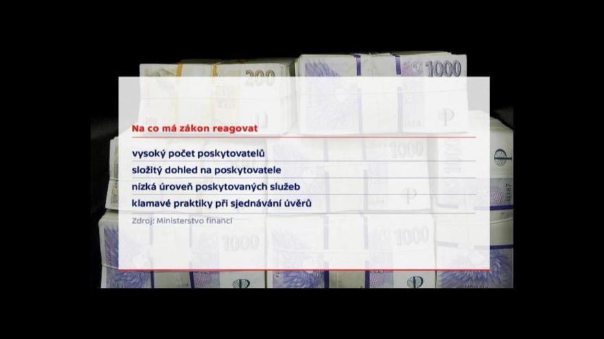Video Události: Počet poskytovatelů se má výrazně snížit
