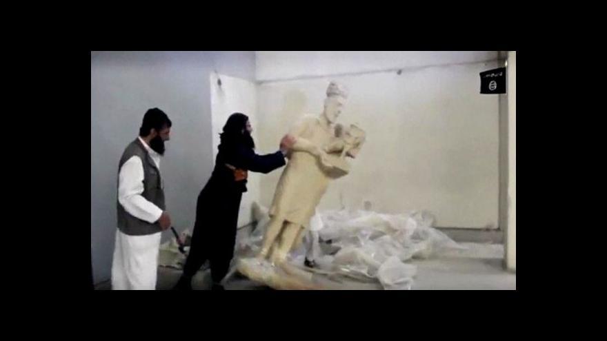 Video Propaganda islamistů: Ničení památek v Iráku