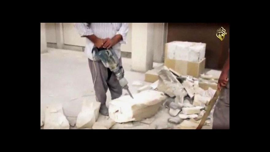 Video Štulc k ničení památek: Islamisté chtějí hlavně zisk