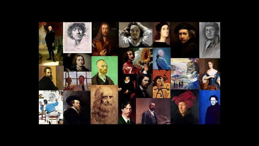 Video V Madridu vystavují autoportréty slavných malířů