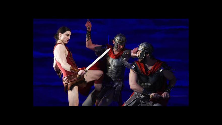 Video Spartakus plánuje povstání v Olomouci