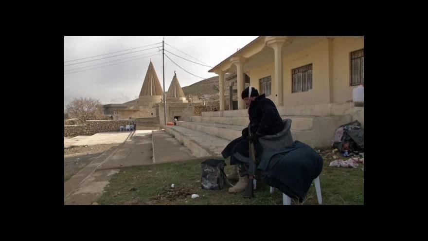 Video Jezídi začali chránit irácké památky