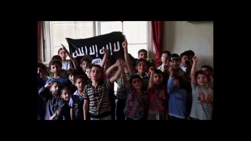 Video V propagandě IS hrají důležitou roli i děti