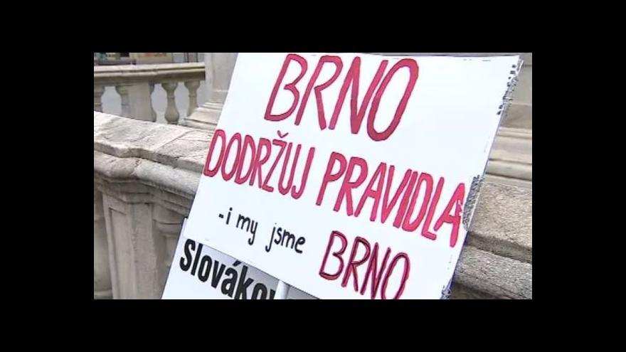 Video Demonstrace na náměstí Svobody