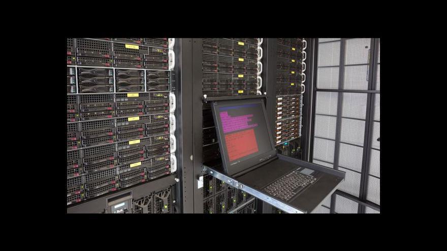 Video Superpočítačové centrum kompletuje nejvýkonnější český stroj