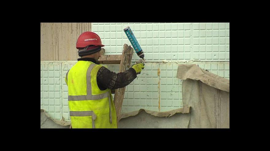 Video Události: Stavebnictví v lednu výrazně vzrostlo