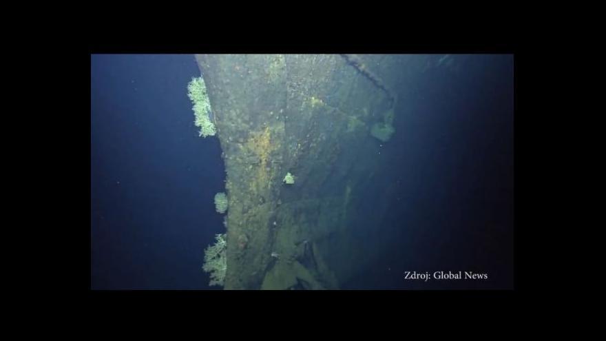 Video Unikátní záběry válečné lodě Musaši