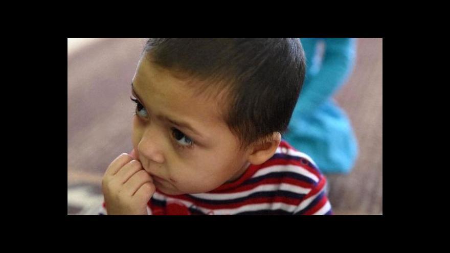 Video Malé ukrajinské děti znají jen život v úkrytu