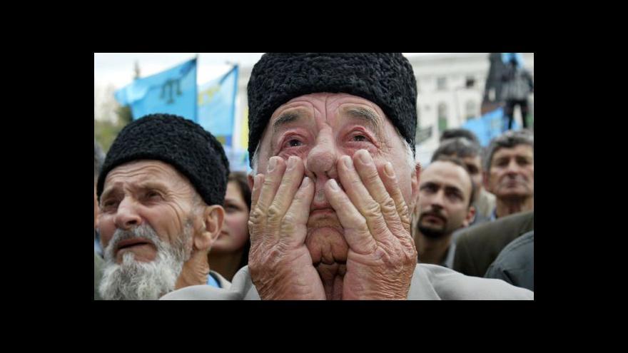 Video Rok od anexe: Úřady na Krymu pronásledují Tatary