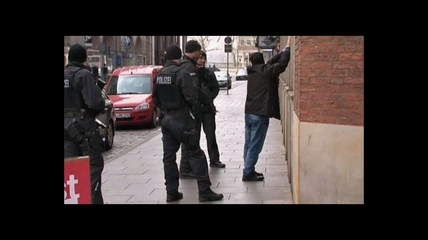 Video Němečtí kriminalisté teroristy z Francie nenašli