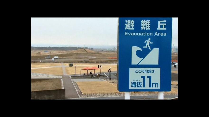 Video Japonsko staví hradbu proti tsunami